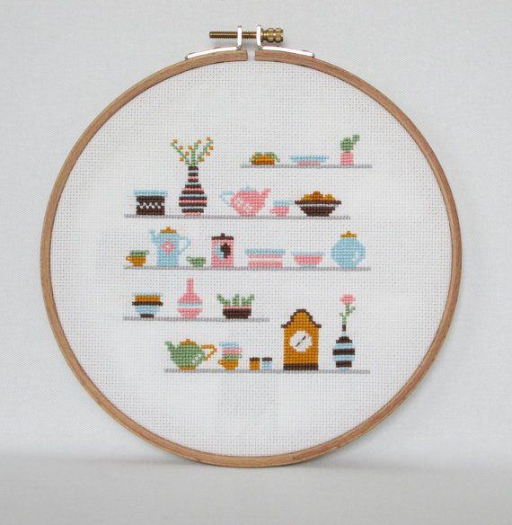 Best 25 cross stitch kitchen ideas on pinterest cross for Cross stitch kitchen designs