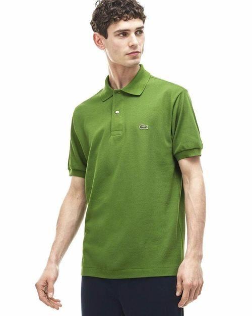 23146d2f76072 ... Online Shopping Pakistan. Lacoste Mens Polo T-Shirt - Light Green -  Polo T-Shirts - diKHAWA