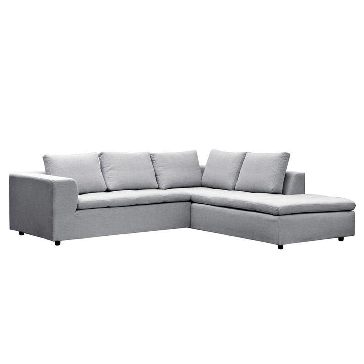 Die besten 25+ Sofa hellgrau Ideen auf Pinterest Couch hellgrau - wohnzimmer couch schwarz