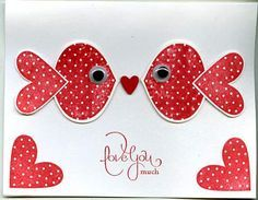 stampin up punch art   Punch Art Valentine by scgustaf - Cards and Paper Crafts at ...