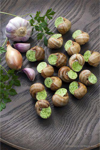 #Escargots de #Bourgogne, idéal pour un repas de #fête - #MarielysLorthios / #photographe #culinaire