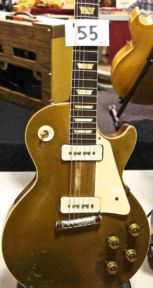 1955 Gibson Les Paul Goldtop!