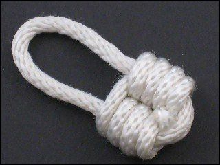 "Padlock Knot - this could be a fun ""lock"" phys rep"