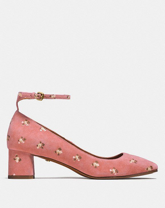 ae10bfdd1170a Ankle strap pump with prairie print | The Imelda Marcos In Me ...