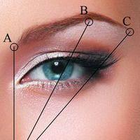 pretty: Makeup Nails, Beautiful Brows, Eye Makeup, Makeup Fashion, Brows Measuring, Eye Brows, Eyes 3, Shape Eyebrows, Web Trends