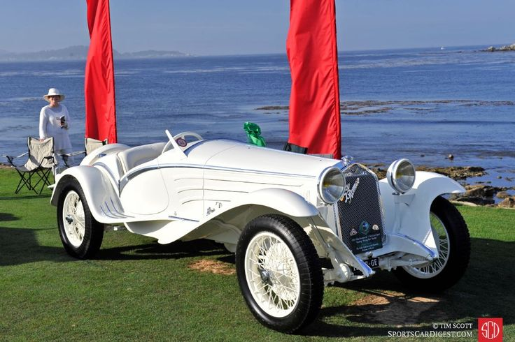 Pebble Beach Concours d'Elegance 2015 Photos, Winners in