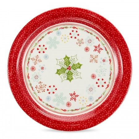 Portmeirion Christmas Wish large platter, 34cm