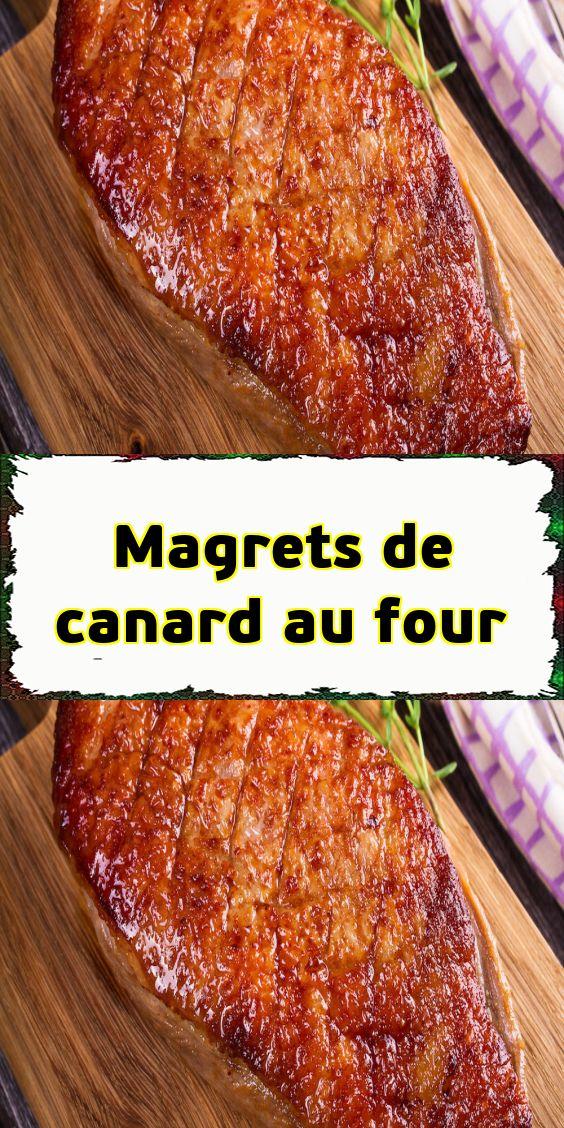 Pr paration sortez le magret de canard du r frig rateur - Temps de cuisson magret de canard au four ...