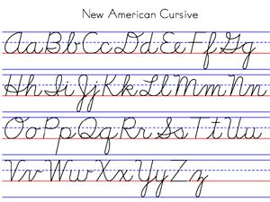 Simple Cursive, Simple Letterforms