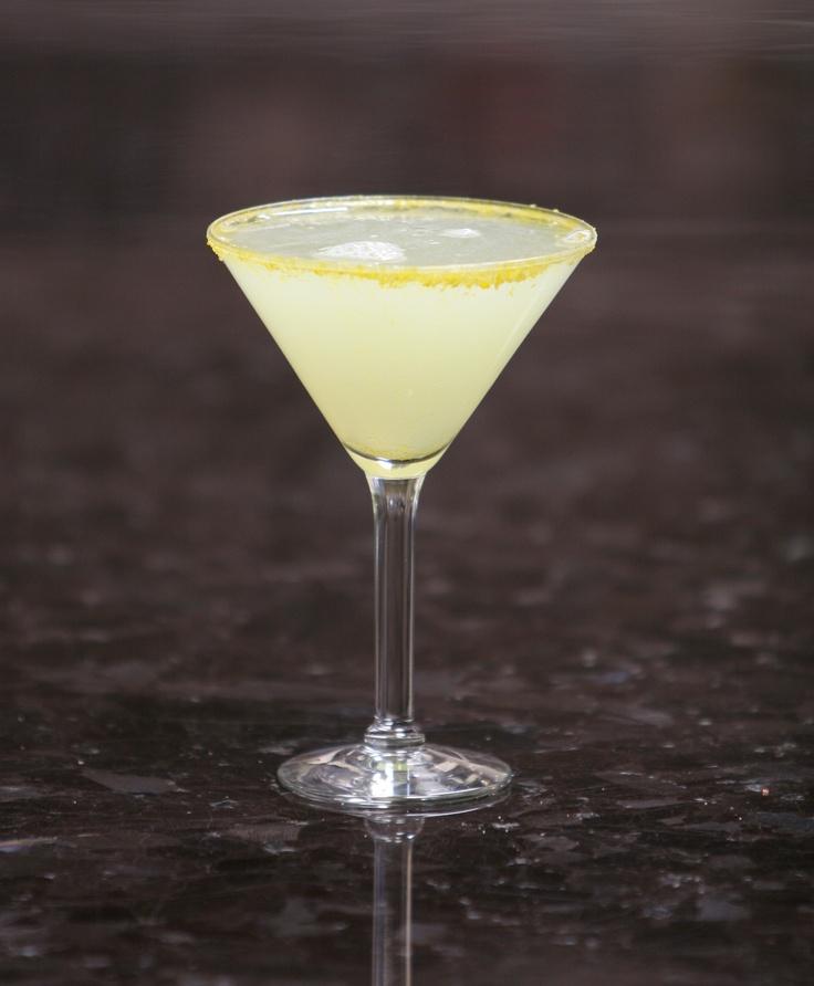 Lemon Head martini: Skyy Citrus Vodka, Tuaca Liqueur ...