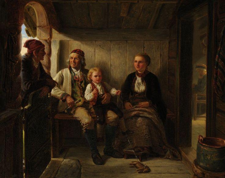 Adolph Tidemand, Naboer (1856)