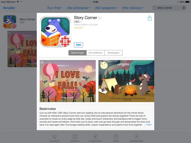 App med engelsk historier, gratis