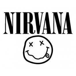 nirvana logo preto e branco - Pesquisa Google