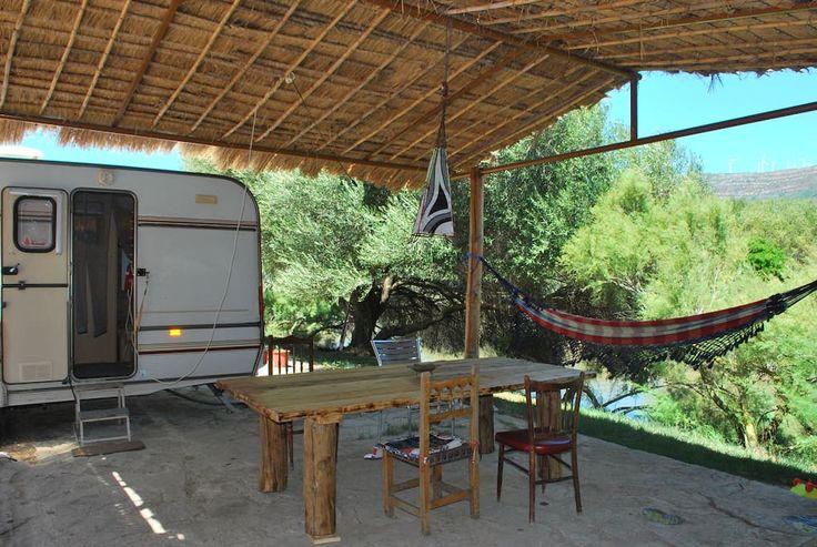 Camper/RV in Tarifa, Spain. Nice furnished caravan (cooker, oven, shover…