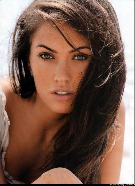 Megan Fox: Girls Crushes, Natural Makeup, Beautiful Woman, Hair Colors, Eye Brows, Megan Foxes, Beautiful People, Eyebrows, Beautiful Girls