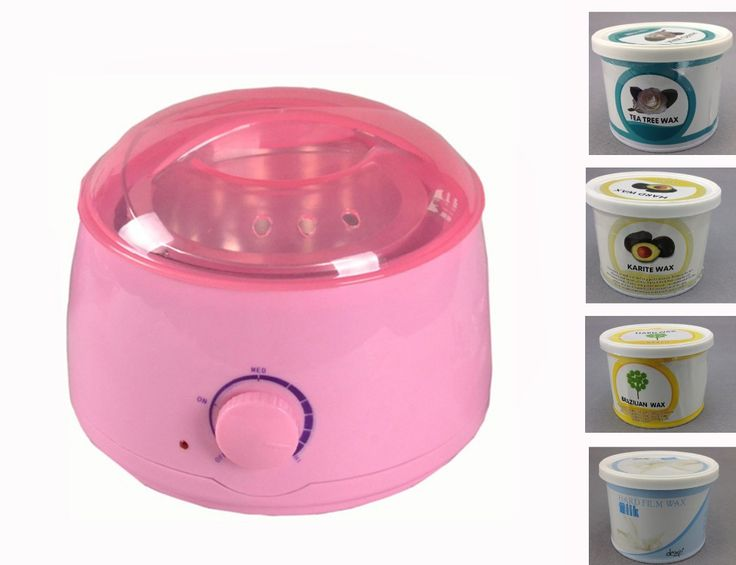 Wachs Heizung 110 V/220 V-240 V 50/60Hz Wachs Wärmer 500 ML Pflegende Hand/gesicht/Fuß Hautpflege Haarentfernung Maschine Rasieren Rosa