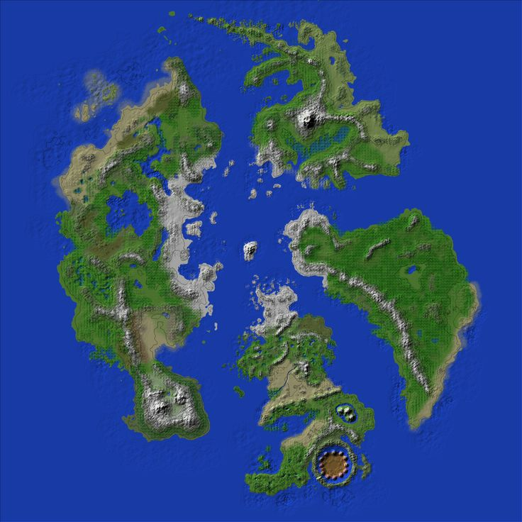 Minecraft World Map Mod ~ AFP CV