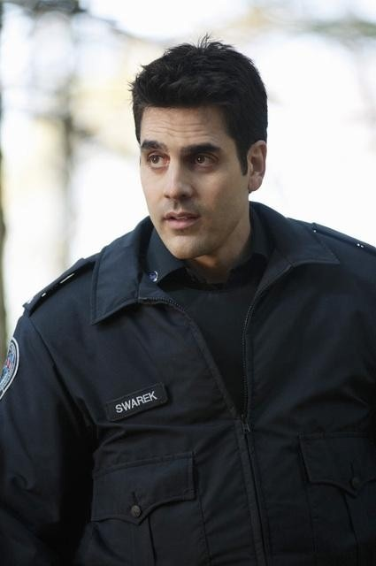 Ben Bass as Swarek. *swoon*