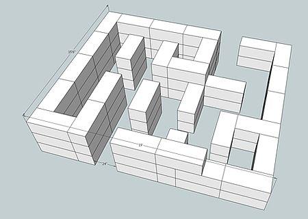 Hay+Maze | hay maze