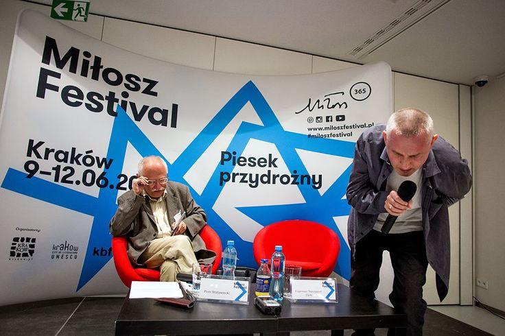 Miłosz Festival 2016, Spotkanie z Eugeniusze Tkaczyszynem-Dyckim Fot. Tomasz Wiech