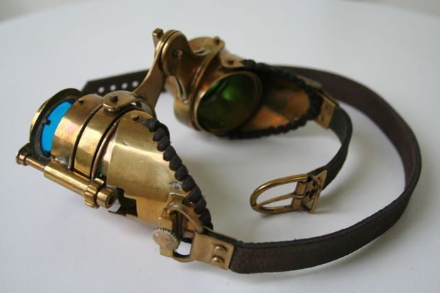 Steampunk Goggles...make them yourself (yeah, right)
