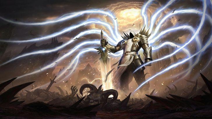 Skulls Video Games Wings Armor Artwork Diablo Iii