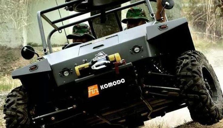 Kendaraan Intai Tempur Fin Komodo