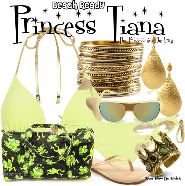 Inspired by Disney's Tiana from 2009's The Princess and the Frog.