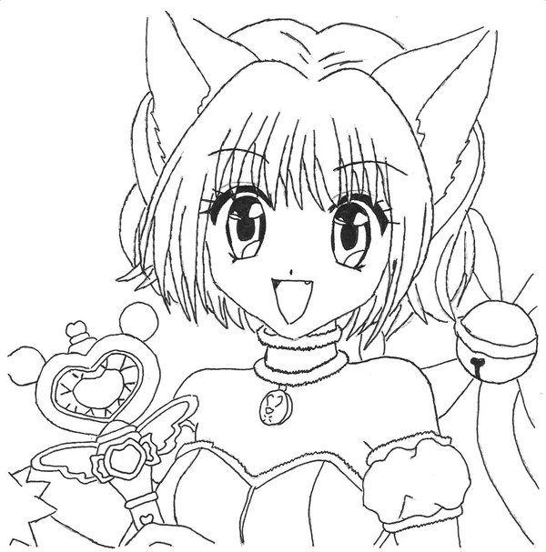 tokyo mew ichigo coloring pages - photo#12