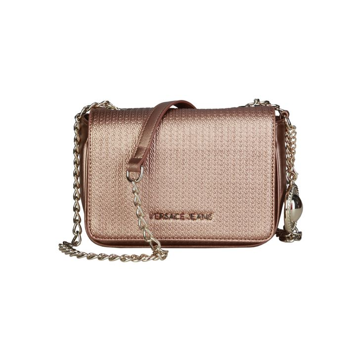 Versace Jeans – E1VPBBM4_75612   Clutch eco-leather bag has removable shoulder strap, metal fastening, lined interior and a dustbag. Inside it,  there is a 1 patch pocket. It is of size 22*15*9 cm.  https://fashiondose24.com