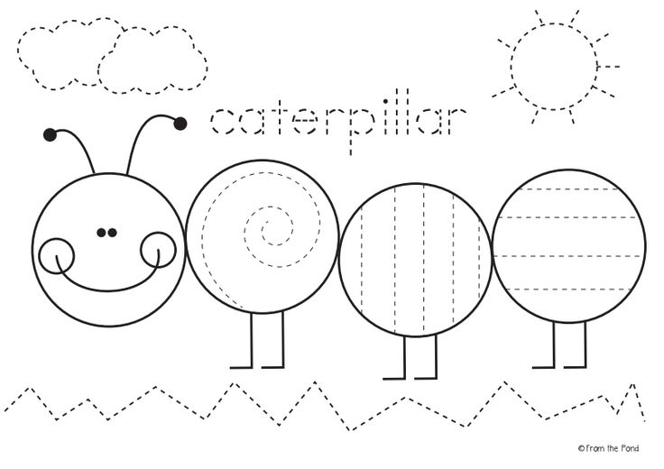 Freebie Caterpillar Worksheet Pdf Google Drive Unit 6 Wonders