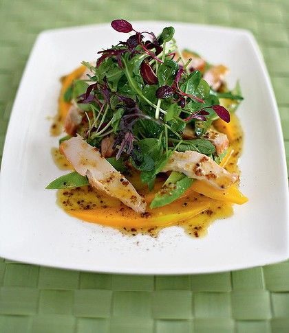 Mango, Avocado and smoked chicken salad ~ Easy, healthy and delicious ~ from Chef Gordon Ramsay
