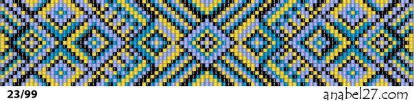 Тканые браслеты из бисера схемы | 277 photos | VK