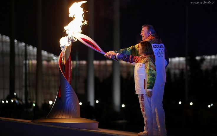 Płomień, Olimpijski, Sochi 2014