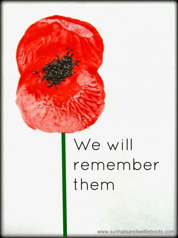 Anzac Day Craft Ideas
