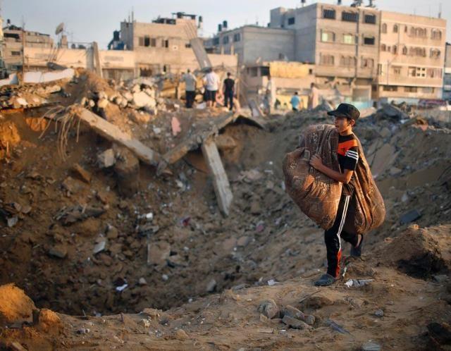 Breaking news in the gaza strip