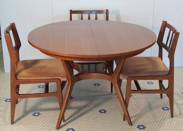 27 best dining room table and chairs images on pinterest mid mid century modern dining tables dining table rway mid century danish modern with two sxxofo