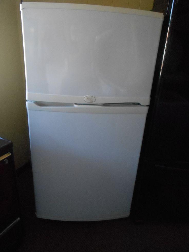 Appliance city whirlpool refrigerator top freezer gold