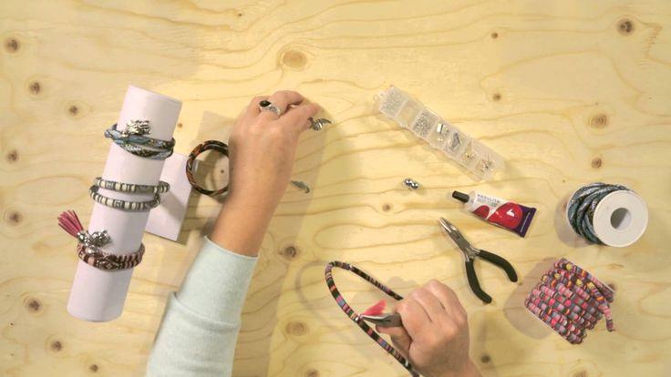 Zelf een leuke #armband maken van #Aztec koord? Bekijk het #inspiratiefilmpje!