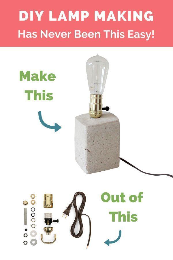 Lamp Wiring Kit Antique Brass Brown Make A Lamp Lamp Lamp Cord