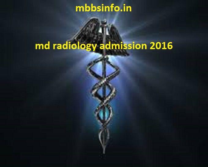 MD Radiology admission management quota 2016 Indiambbsinfo