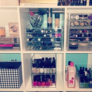 Flair By Brandi: #muji #clearstorage #acrylicstorage #makeup