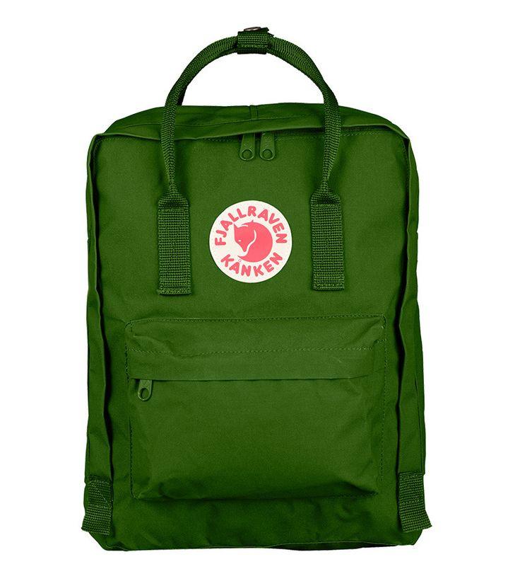 Fjallraven Classic Kanken Backpack Bag Leaf Green
