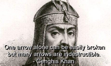 genghis khan, quotes, sayings, positive, thinking, meaningful
