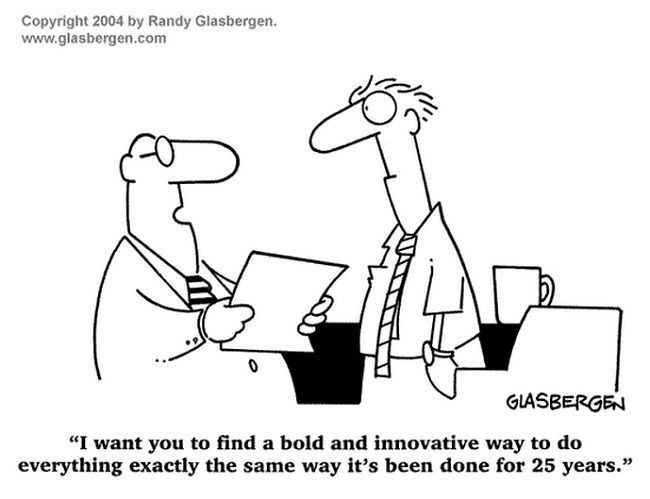 Top 12 change management comic strips - cartoons & comics