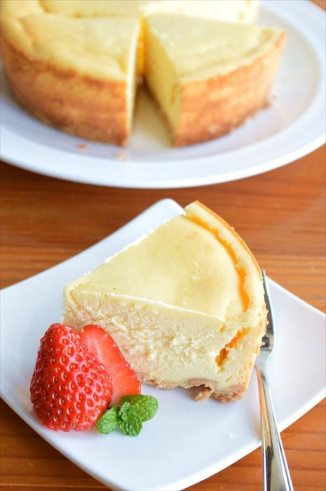 生クリーム不要!ヘルシー♪豆腐チーズケーキの作り方
