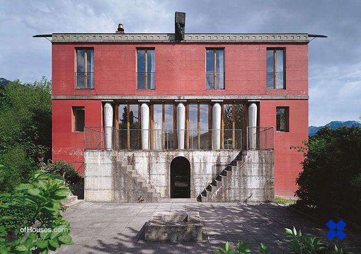 : 230. Peter Märkli & Gody Kühnis /// Two houses in...