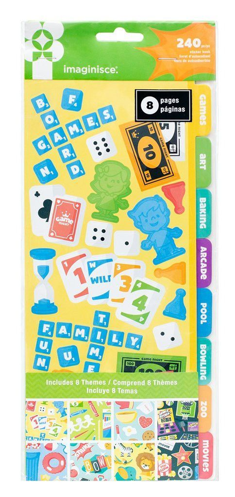 Imaginisce Family Activities Stickers