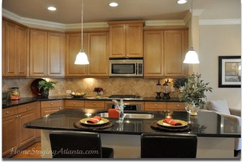 1000 images about kitchen staging on pinterest staging for Kitchen staging ideas