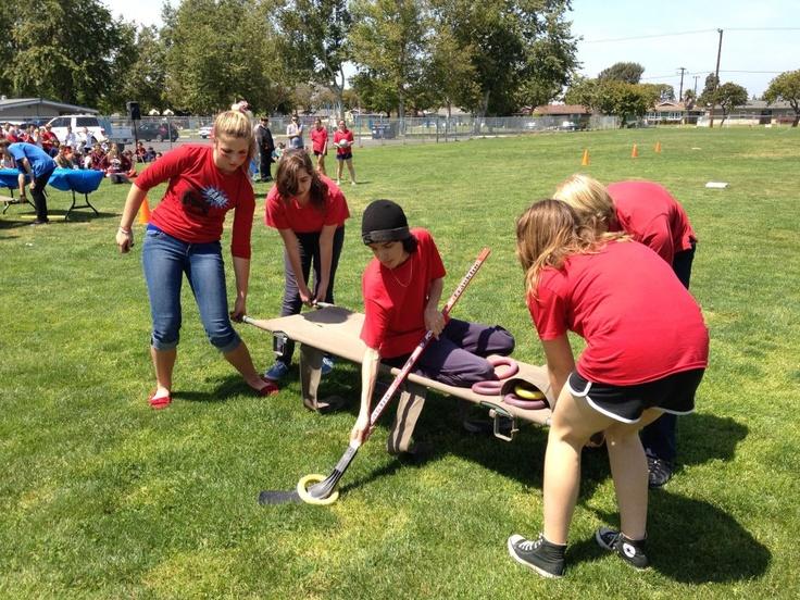 2012 Middle School Survivor Games Grace Lutheran School